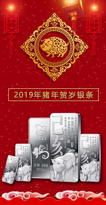 2019猪年金银条